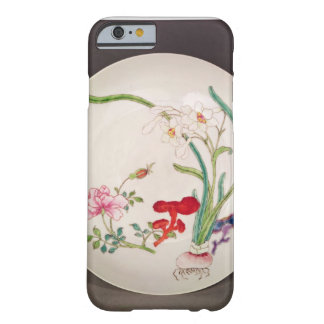 Porcelain dish, famille rose decoration, Yung Chen Barely There iPhone 6 Case