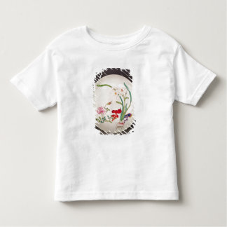 Porcelain dish, famille rose decoration, Yung Chen Toddler T-shirt