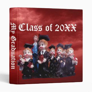 Porcelain Graduates Class of 20XX Vinyl Binders
