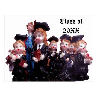 Porcelain Graduates Class of 20XX Postcard