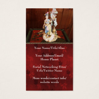 Porcelain Lady Business Card
