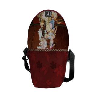 Porcelain Lady Messenger Bags