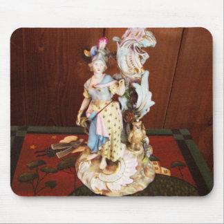 Porcelain Lady Mouse Pads