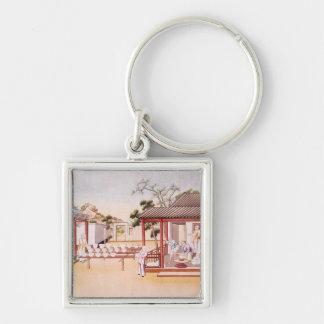 Porcelain Making (w/c on paper) Keychain