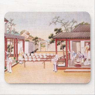 Porcelain Making (w/c on paper) Mouse Pad