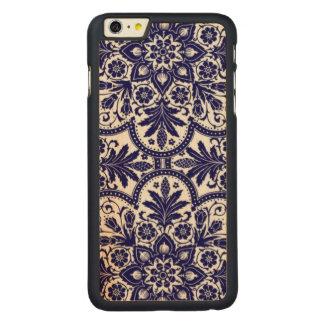 Porcelain Mandela Carved® Maple iPhone 6 Plus Slim Case