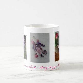 Porcelain Orchid Tea Cozy Mug