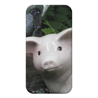 Porcelain Pig iPhone 4/4S Cases