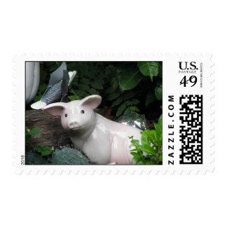Porcelain Pig Postage