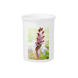 Porcelain Pitcher floral design