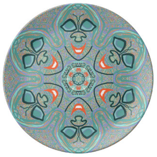 "Porcelain Plate ""Rico"" by MAR"