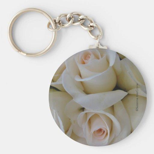 Porcelain Roses ~ Key Chain