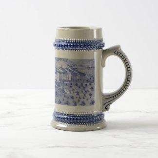 Porcelain Stein - Customized 18 Oz Beer Stein