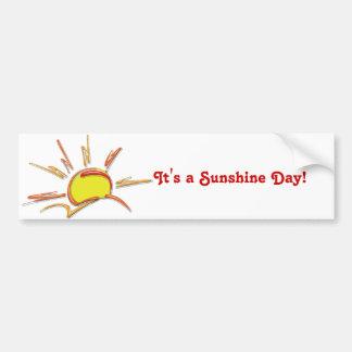 Porcelain Sunrise Bumper Sticker