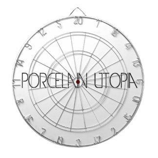 Porcelain Utopia Dart Board