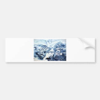 Porcelain - WOWCOCO Bumper Sticker
