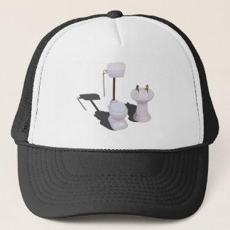 PorcelainToiletWithPullChain103013.png Trucker Hat