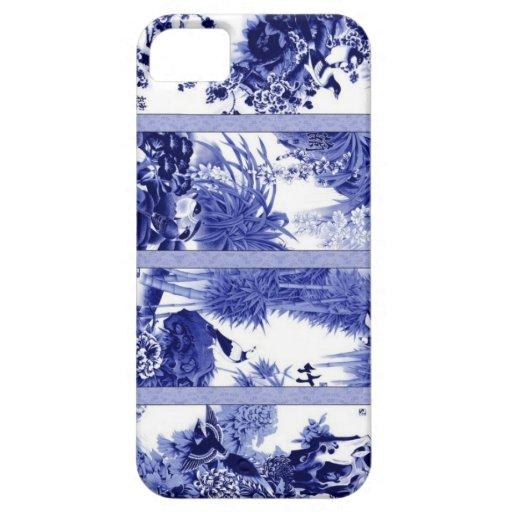 Porcelana azul y blanca china iPhone 5 Case-Mate funda