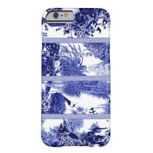 Porcelana azul y blanca china funda de iPhone 6 barely there