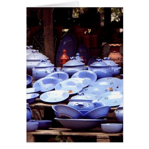 Porcelanas Tarjeta De Felicitación