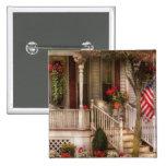 Porch - Americana 2 Inch Square Button