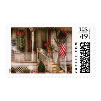 Porch - Americana Stamp