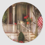 Porch - Americana Round Stickers