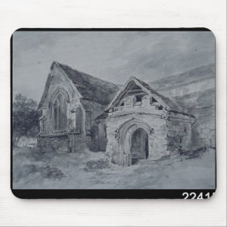 Porch and Transept of a Church, c.1850-11 Mouse Pad