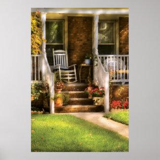 Porch -  Granpa's Chair Poster