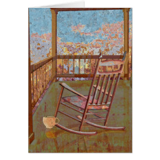 Porch Greeting Card