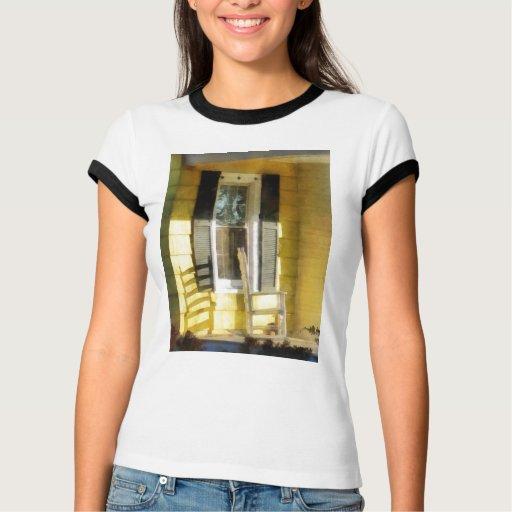 Porch - Long Afternoon Shadow of Rocking Chair T Shirt