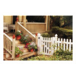 Porch - My Grandmother's Garden Personalized Stationery