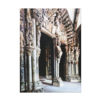 Porch of Glory (Santiago de Compostela) Canvas Print