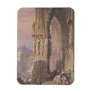 Porch of Regensburg Cathedral Magnet