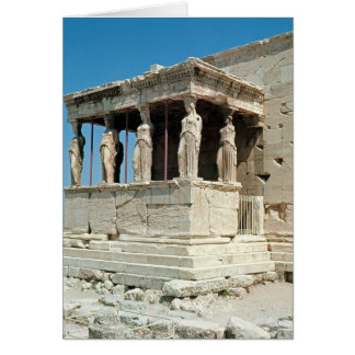 Porch of the Maidens, Erechtheion, c.421-405 BC Greeting Cards
