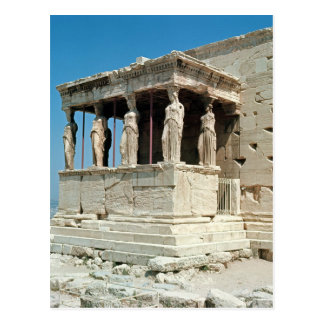 Porch of the Maidens, Erechtheion, c.421-405 BC Post Cards