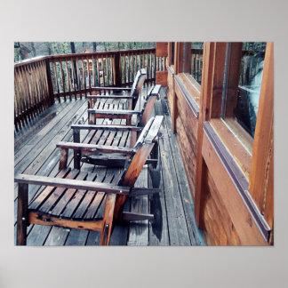 Porch scene poster