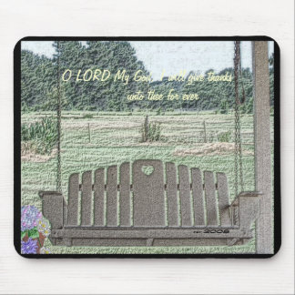 Porch Swing Mouse Pad