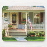 Porch - The home of a little old lady Mouse Pad