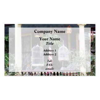 Porch With Bird Cages Double-Sided Standard Business Cards (Pack Of 100)