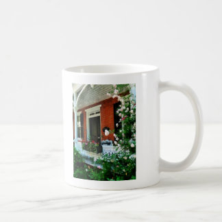 Porch With Climbing Roses Mugs