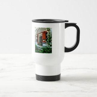 Porch With Climbing Roses Mug