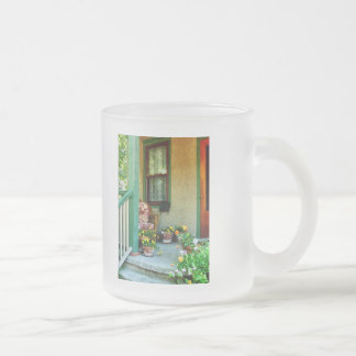 Porch With Padded Chair Mugs