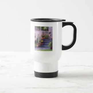 Porch With Watering Cans Mug
