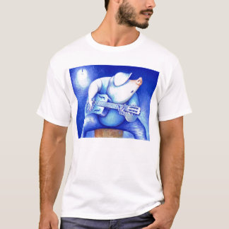 Porcine Blue T-Shirt