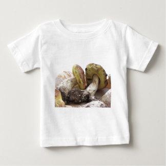 Porcini mushrooms isolated on white background baby T-Shirt