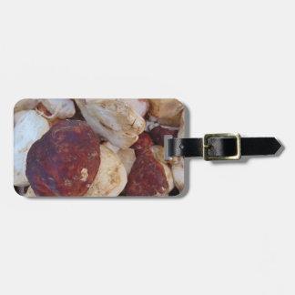 Porcini Mushrooms Luggage Tag