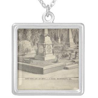 Porción Sacto, arbolado del cementerio del res Colgante Cuadrado