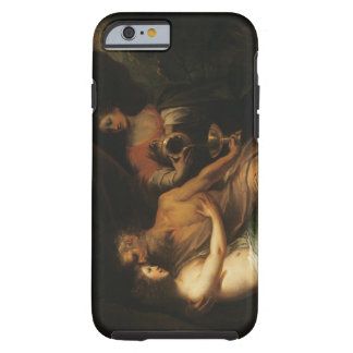 Porción y sus hijas (aceite en lona) 3 funda de iPhone 6 tough