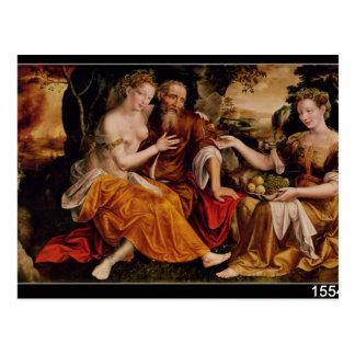 Porción y sus hijas, c.1565 postales